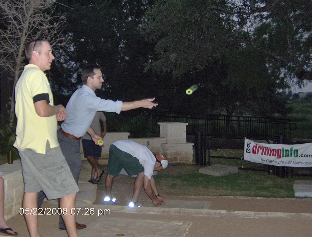 1st annual washers tournament held at doc 39 s backyard
