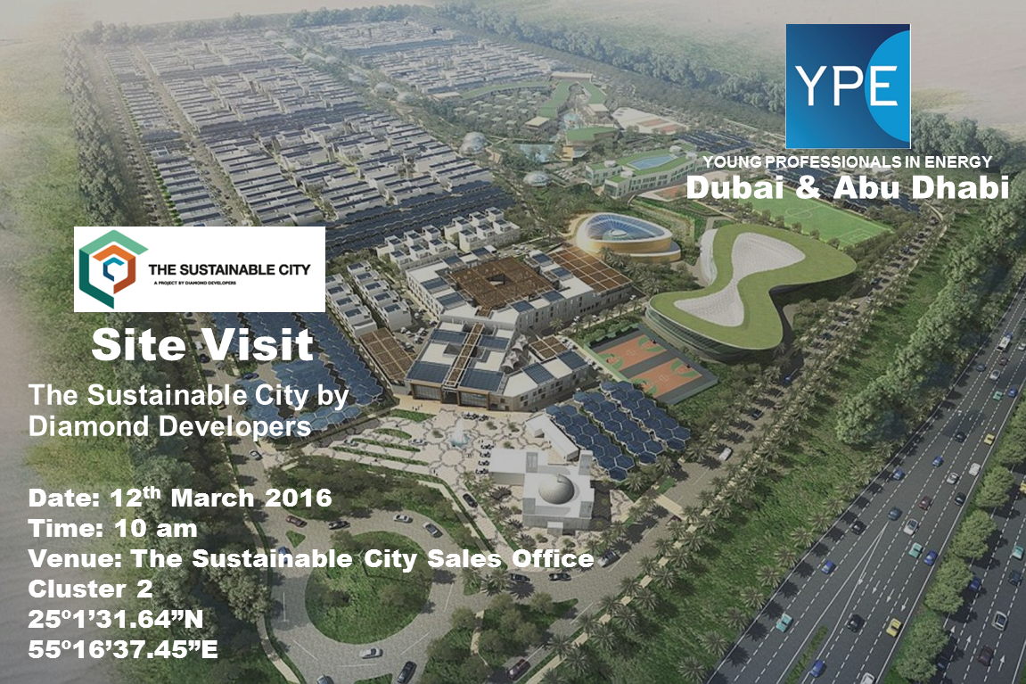 Upcoming Events Site Visit To The Sustainable City By