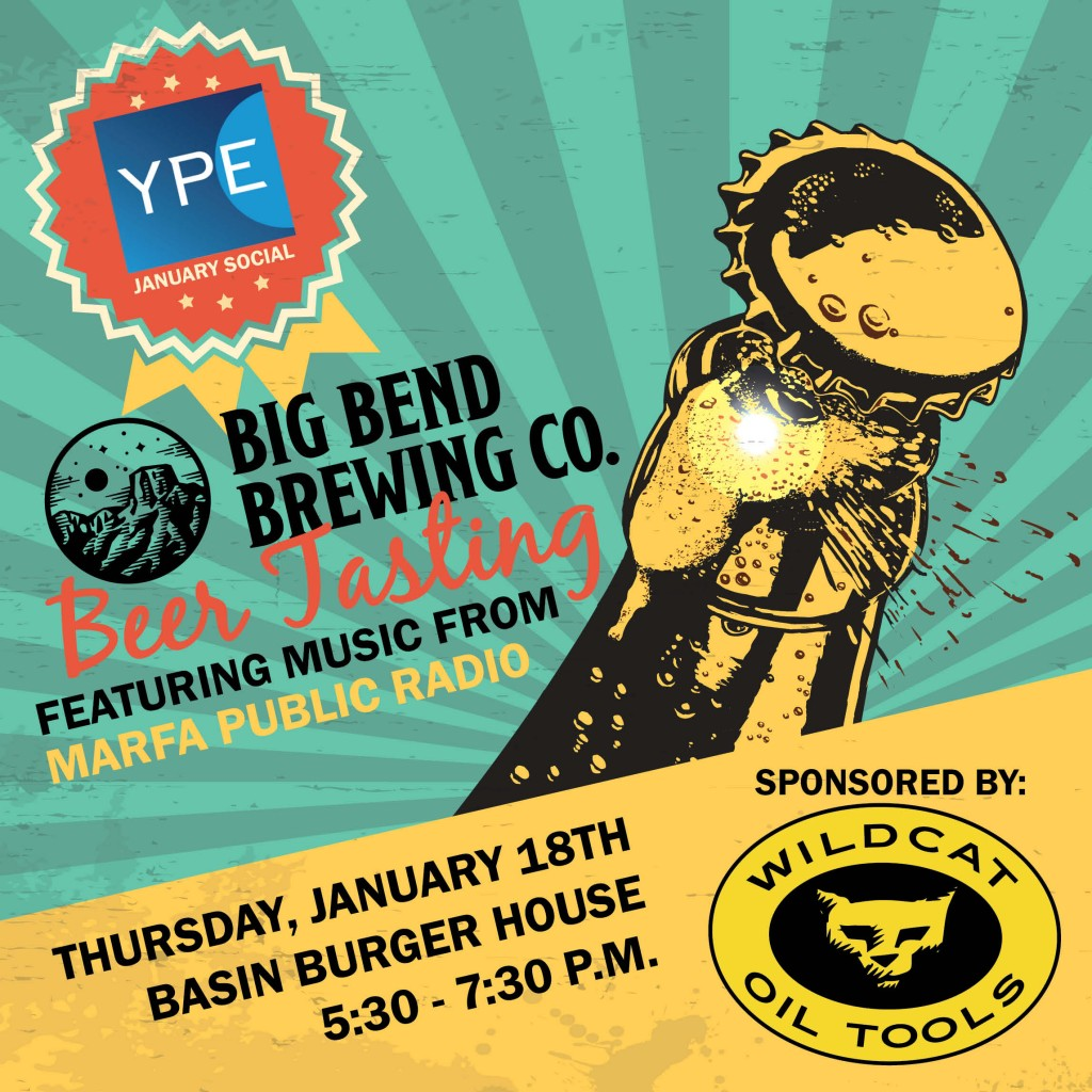 YPE Big Bend Brewing Event - NEW