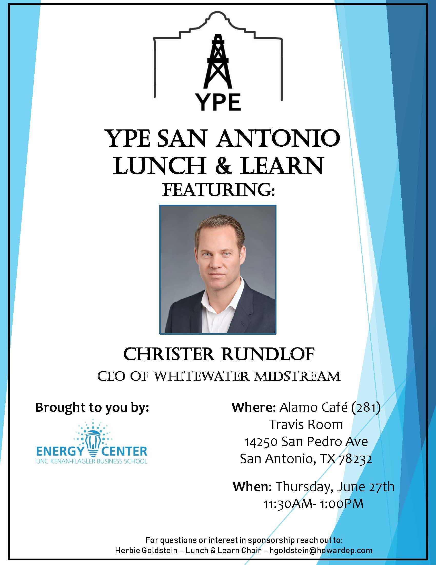 Upcoming Events June Lunch Amp Learn Christer Rundlof