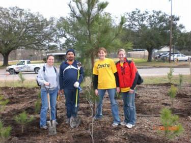 YPE Houston Arbor Day Tree Planting - January2008